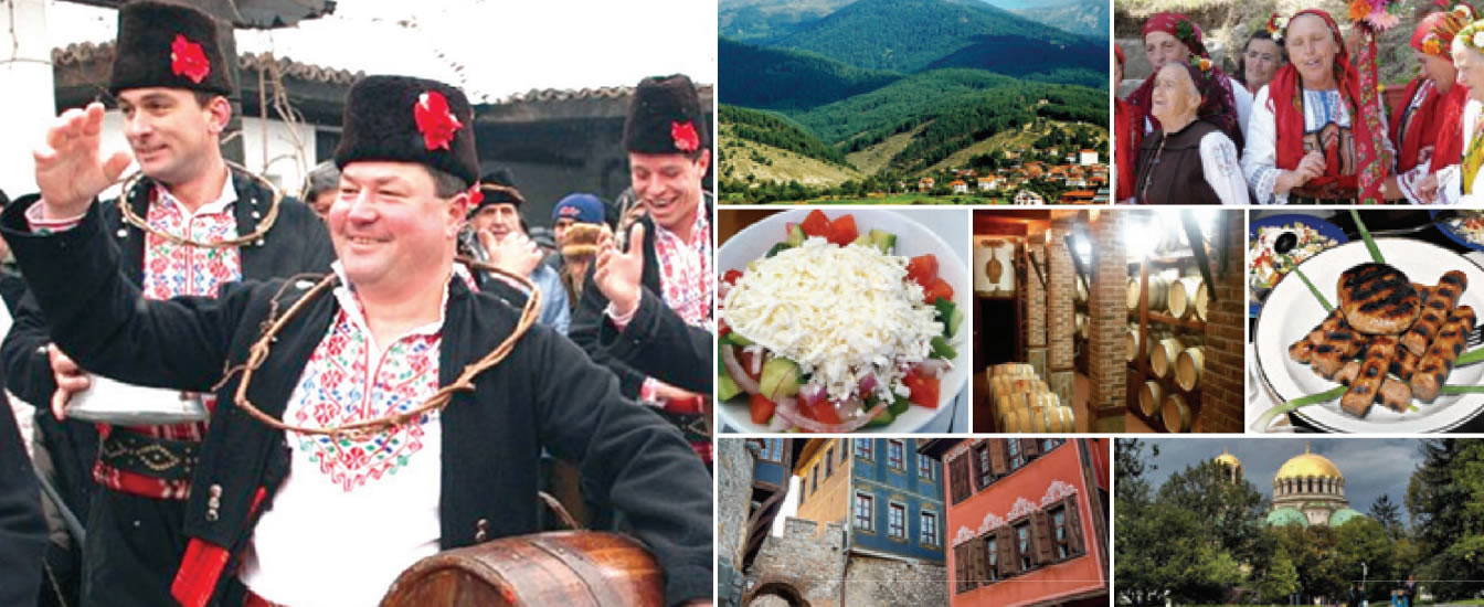 Wine and Foodk Tours in Bulgaria